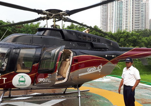 Tinuku Grab Indonesia prepares GrabHeli service