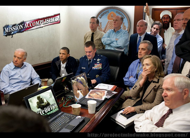 Project Mindwake: The Real Whitehouse Situation Room Photo ... Obama Bin Laden Situation Room