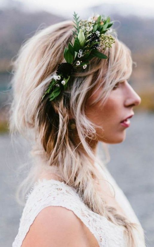 Braid with Floral Design Headband