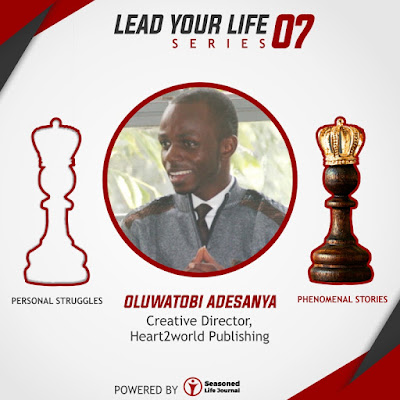 Oluwatobi Adesanya (Creative Director, Heart2world Publishing)