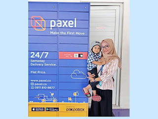 paxel sameday, flat price