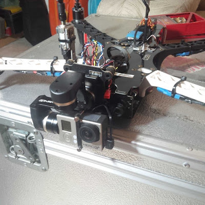 Drone Hedwig 1 versi Upgrade dengan Brushless Gimbal