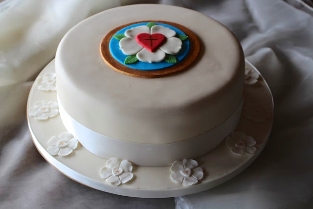 Konfirmationstorte - Confirmation Cake