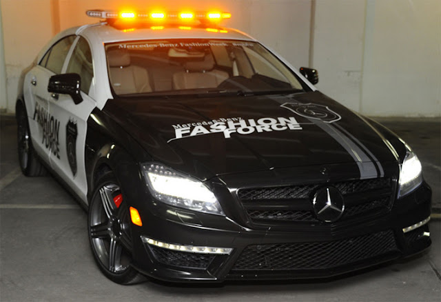 mercedes cls police