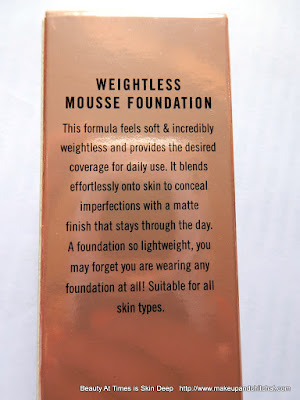 Lakme 9to5 Weightless Mousse Foundation 02 Beige Vanilla