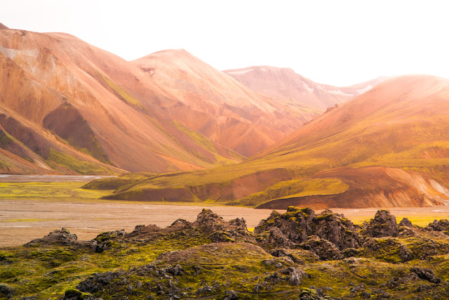The Laugavegur Trail in Landmannalaugar makes the perfect excursion from Reykjavik