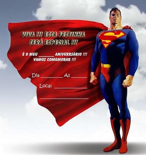 Invitaciones de Superman para Imprimir Gratis Oh My Fiesta! Friki