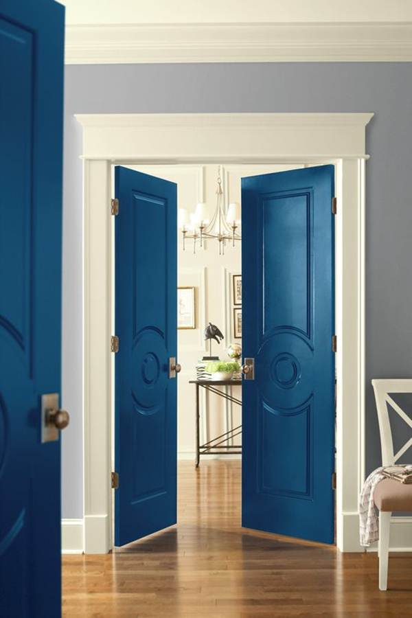 Colored Interior Doors 5