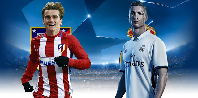 Atlético de Madrid x Real Madrid - Horário e TV (Champions League)