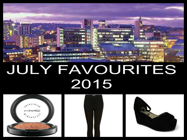 JULY FAVOURITES 2015