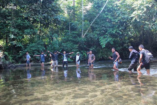 sungai satu air terjun jukong dusun baak kemoyuk kec nanga mahap kab sekadau - kaharsan