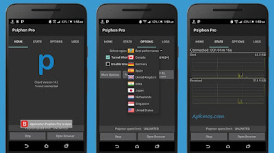 Download Vpn Pro Psiphon Mod Apk (Black Edition)