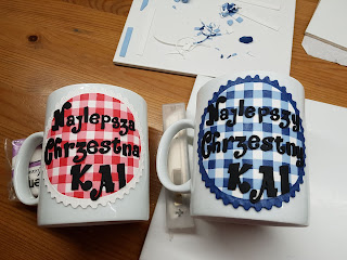 mug, cup, kubek, chrzciny, chrzestna, podziękowania, komunia, prezent