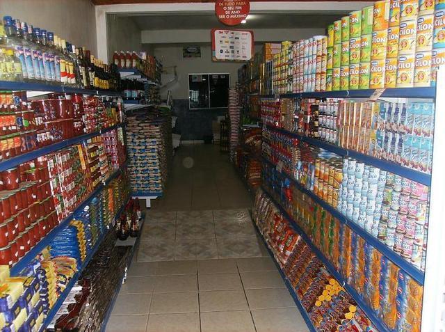 gêneros alimentícios do mercadinho atila