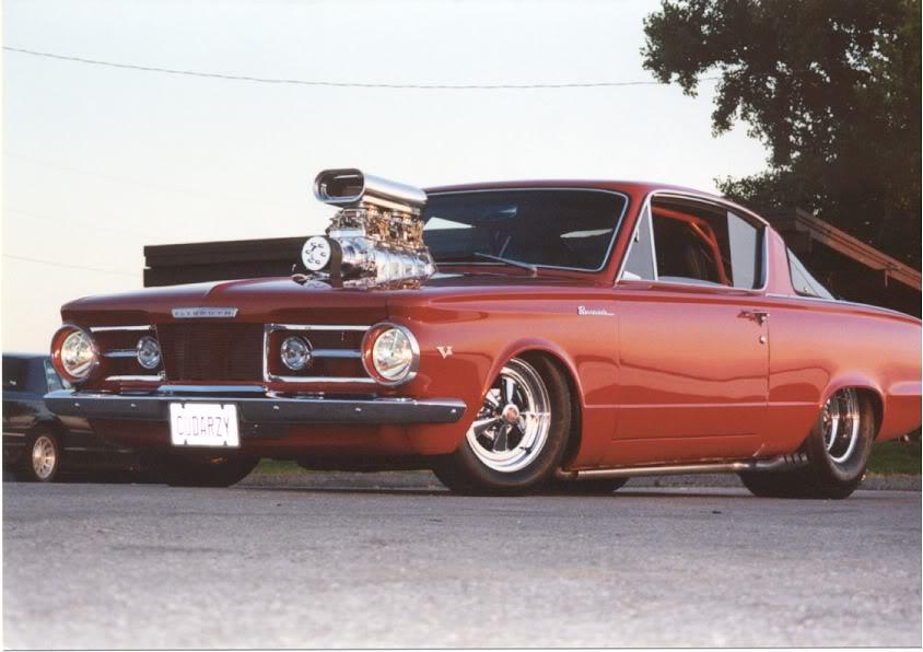 Supercharged Plymouth Hemi Cuda Iblog