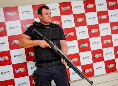 Guarda Municipal de São José (SC) ganha espingardas calibre 12 e pistolas .380