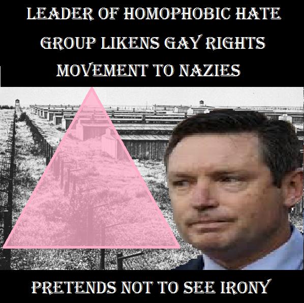 from Elliott anti gay marriage speech