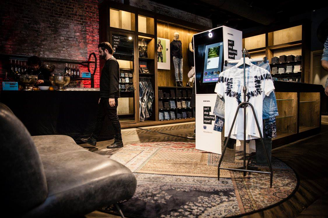 Diesel D:Code private shopping event in Brussels with Styling by JON THE GOLD , new collection, drinks, bites and photo booth fun  - Photos by Dennis Ravays