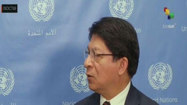 Canciller de Nicaragua: Debemos detener injerencismo de EE.UU.