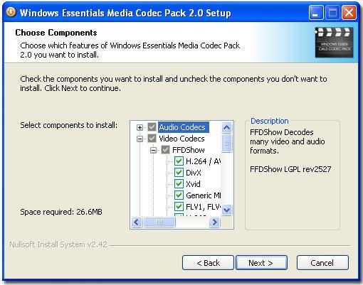 Media Essentials Codec Pack   skatjutrevon ga