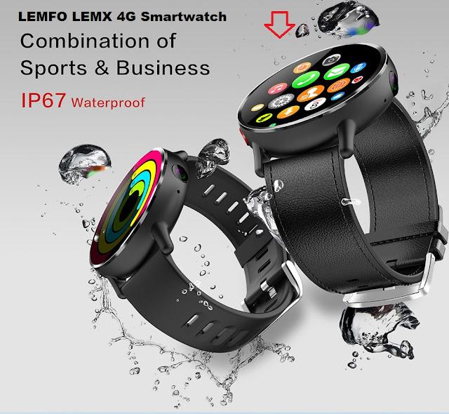 LEMFO LEM X 4G Smartwatch Specs, Price, Features