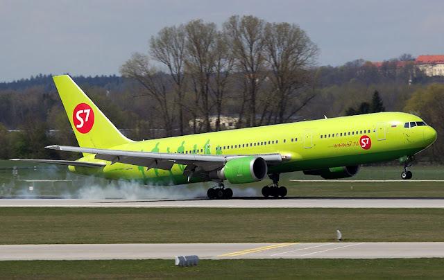 S7 Siberia Airlines Boeing 767-300ER