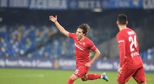 فيورنتينا يتغلب على نابولي في ارضة بثنائية في الجولة 20 من الدوري الايطالي