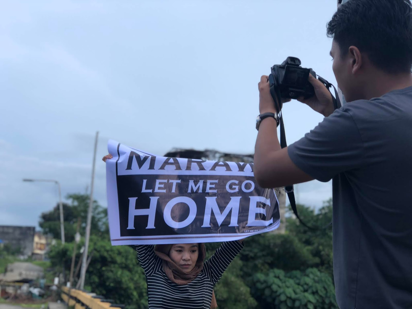 I am from Marawi Let Me Go Home