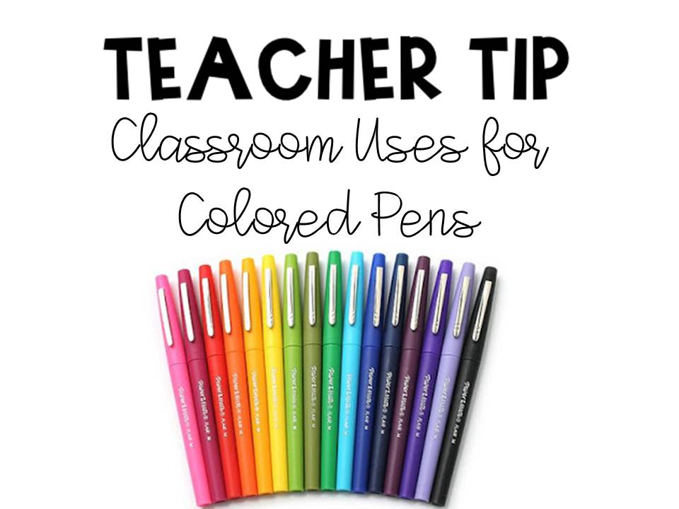 Mrs  Wheeler's First Grade Tidbits: Pen Tips, Giveaway, and