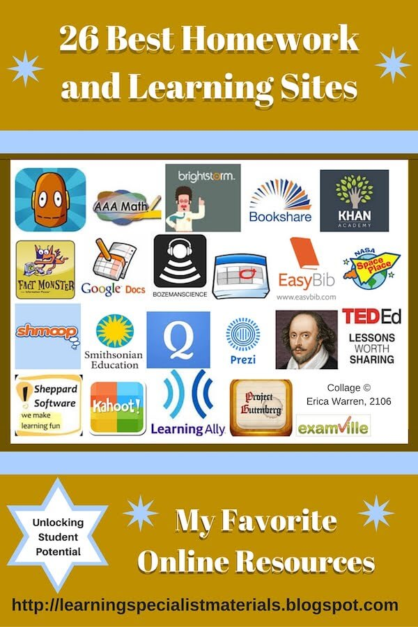 26 Best Homework and Learning Sites