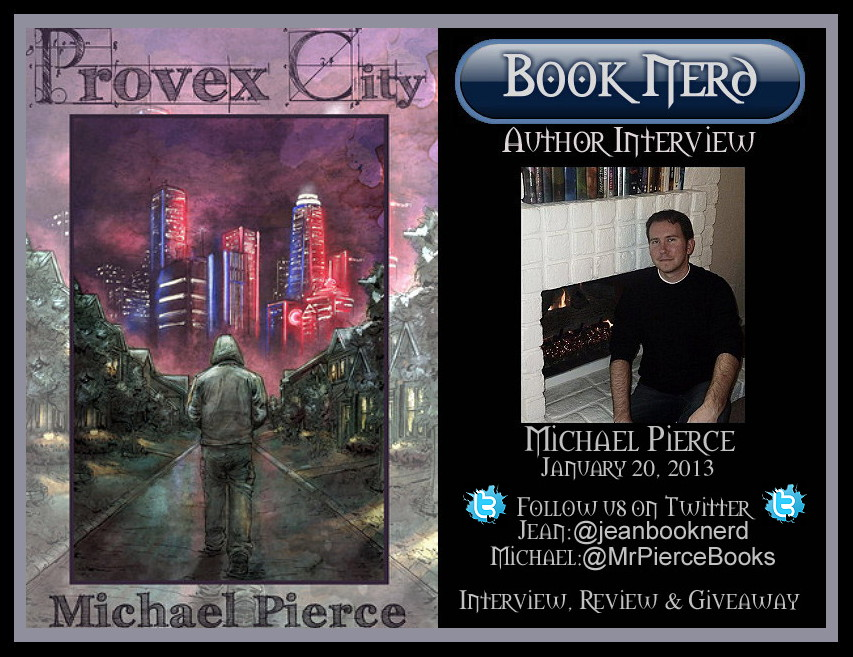 Michael Pierce Author Interview Jean Booknerd