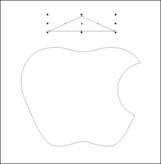 membuat logo apple
