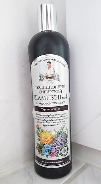 rosyjski szampon wzmacniający Pervoe Reshenie