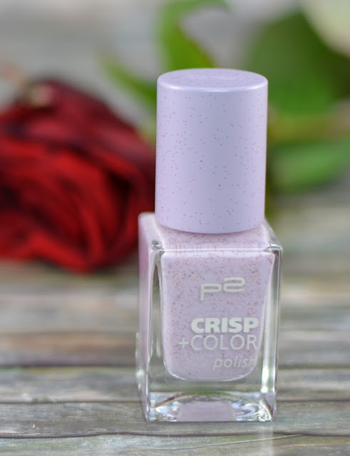 P2 crisp + color polish violet grace