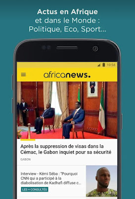 Meilleure application mobile africaine pour les actualités économiques