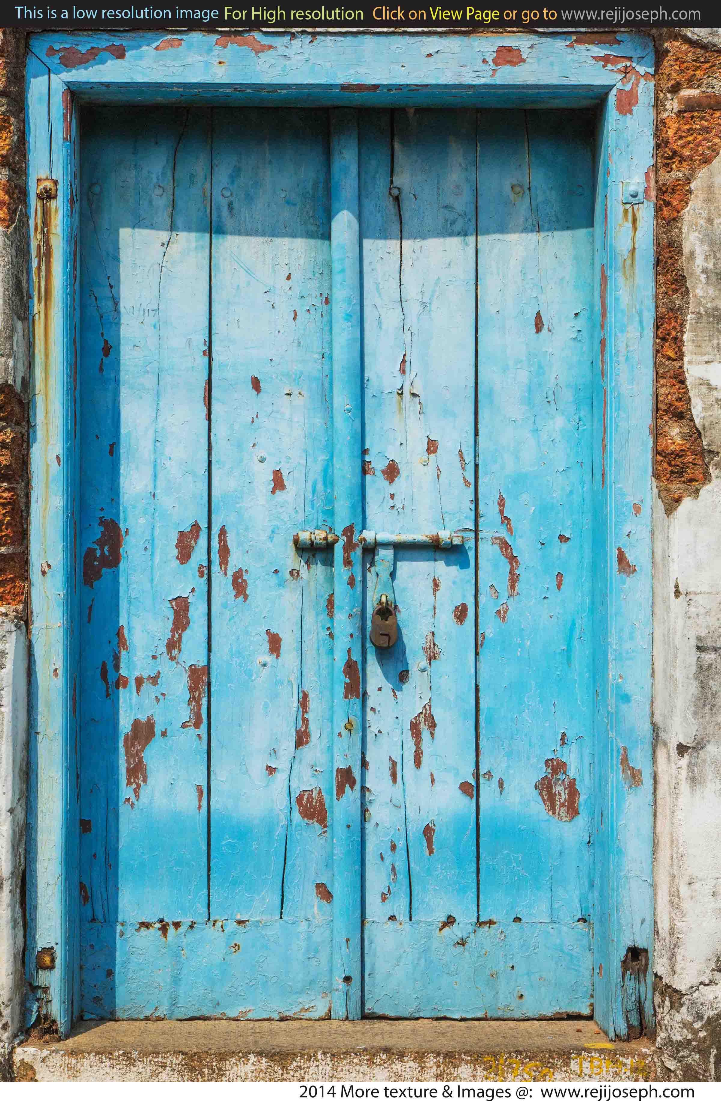 Old Wooden Door texture 00002