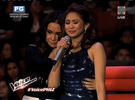 The Voice Philippines Season 2: Sarah Geronimo cries while choosing between Kokoi and Monique