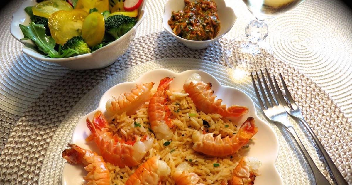 La cuisine de messidor langoustines divines pesto for La fontaine aux cuisines