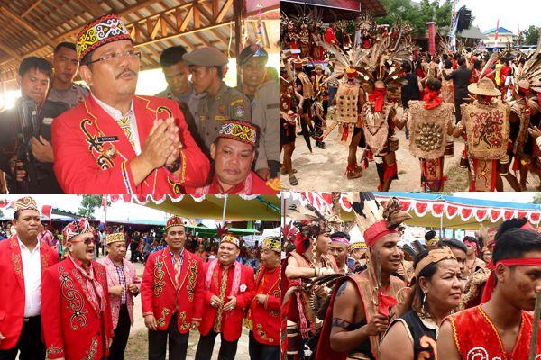 Pembukaan Pekan Gawai Dayak VIII 2017 Kabupaten Sekadau