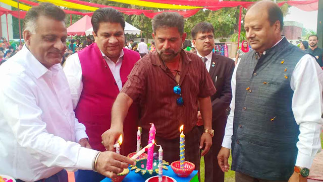Grand Diwali fair held at Delhi Public School, Balgangarh