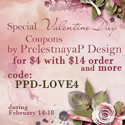 Special Valentine day Sale, FREE Wordart and Coupons!