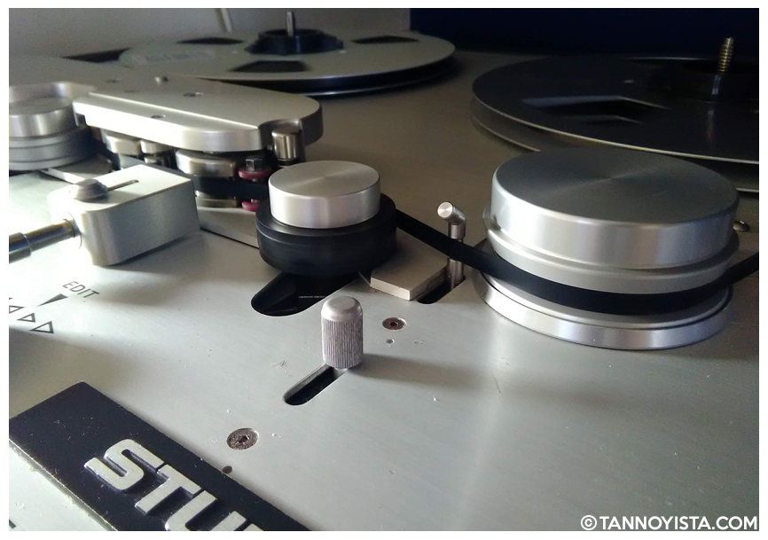 The Studer A80/R Master Tape Recorder - The legendary transport - New bearings - Tannoyista.com