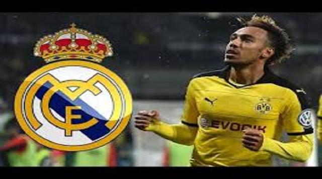 Mercato. Aubameyang a de nouveau exprimé son envie de jouer au Real Madrid