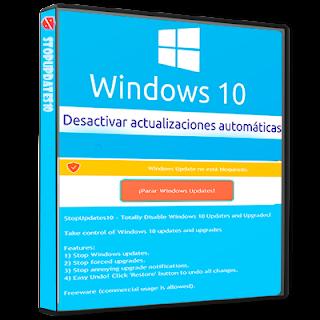 StopUpdates10 - Desactiva las actualizaciones de Windows