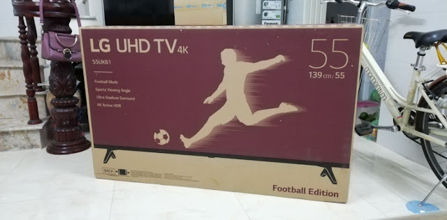 Review, đánh giá Smart Tivi LG 55 inch 4K UHD 55UK6100PTA