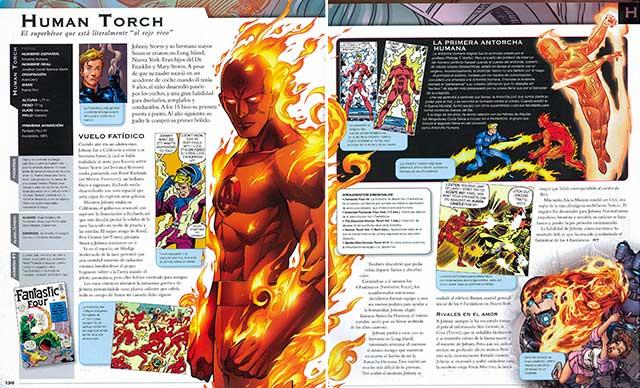 Vista Previa 02 Enciclopedia Marvel en español y PDF