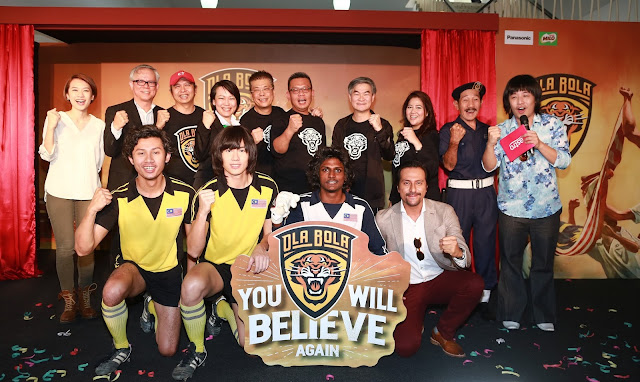 "Chiu Kicks Off ""OlaBola"", the biggest football movie in Malaysian film history"