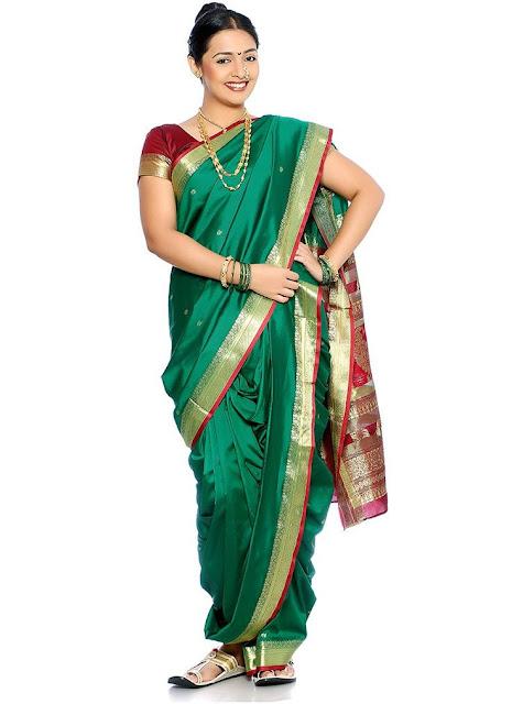 Maharashtrian Saree Draping Style