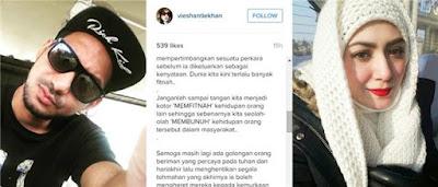 Zizan Razak Mengaku Tengok Wayang Dengan Bekas Isteri Eizlan Yusof