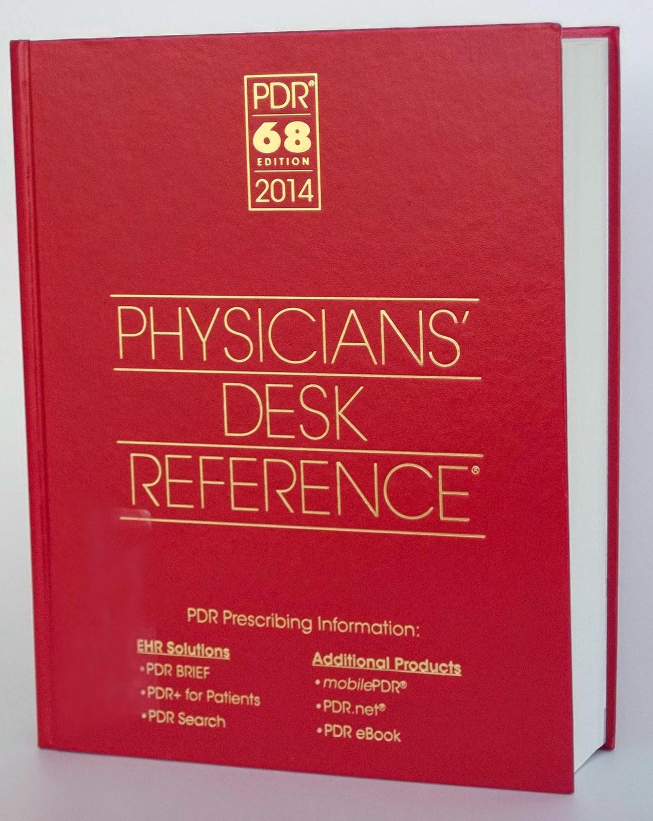 Physician Desk Reference Book Hostgarcia